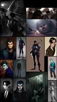 Sketchdump Part5: comics project