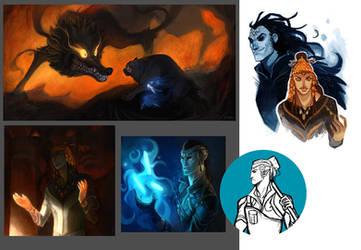 Silmarillion Stuffs by Grimhel