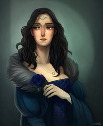 Game of Thrones - Lyanna by Grimhel