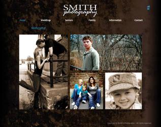 Smiths Photo : Web Design