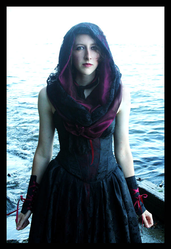 The Hooded Gown by TEMPERATE-SAGE on DeviantArt