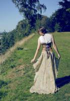 Sandy Flora Trailing Gown