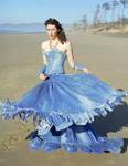 Blue Jean Ball Gown