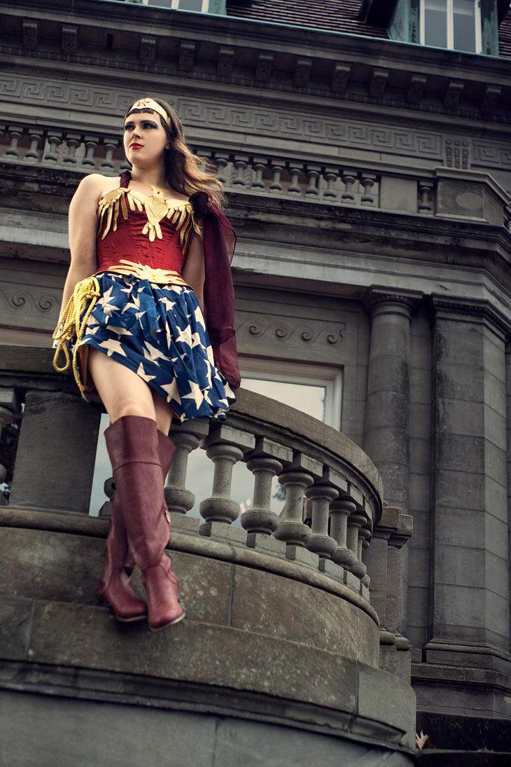 Wonder Woman by Temperate-Sage