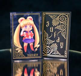 Sugar + Spice Trading Card: SailorMoon by ArtofPri
