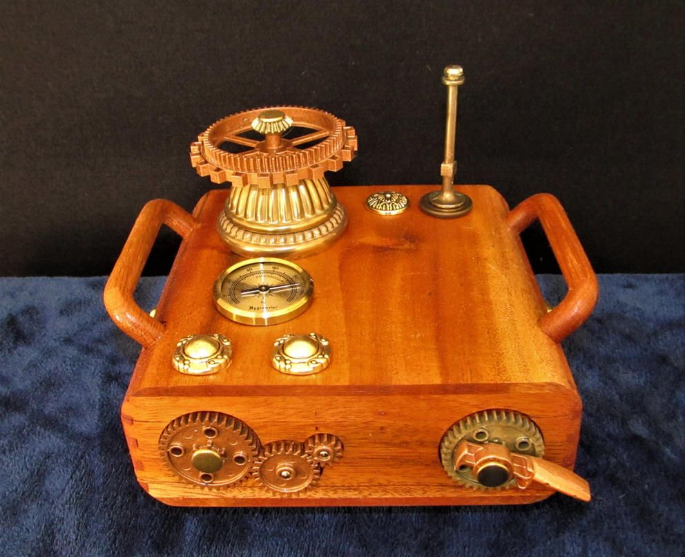 Steampunk Apparatus II by zimzim1066