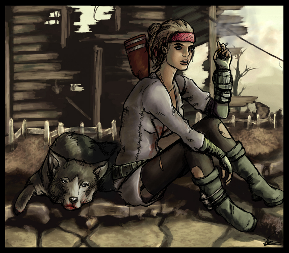 Out in the Wastelands by tansy9