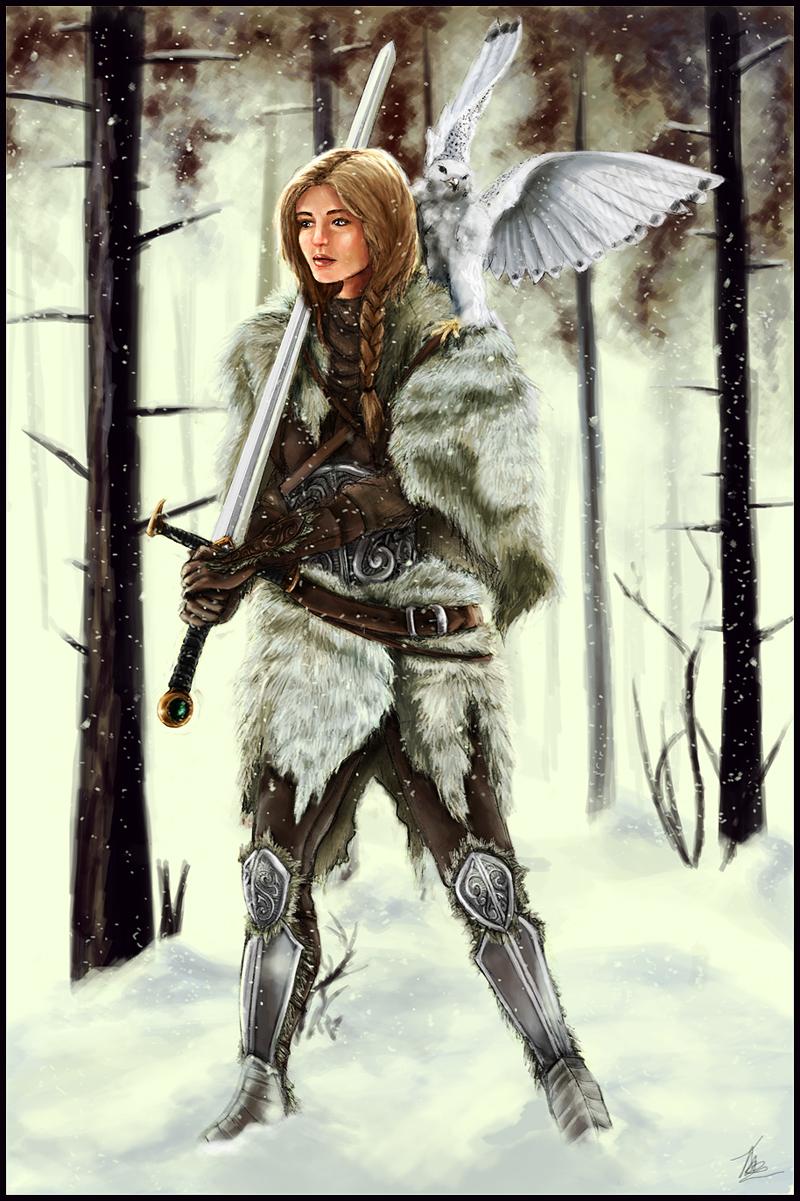 Saskia Virtanen  Winter_Warrior_by_tansy9