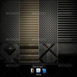 True Metallic Patterns by cr0z3r