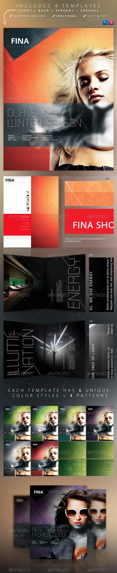 Fina Brochure - Fashion+Shopp. by cr0z3r