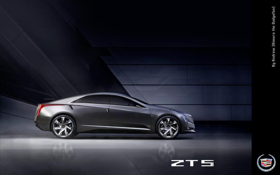 Cadillac ZTS by Kimura-Shinjiru on DeviantArt