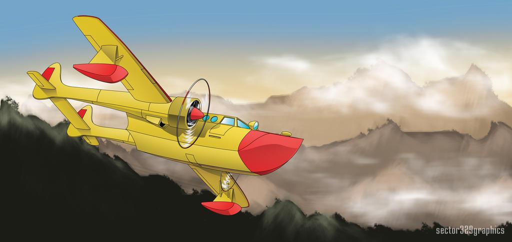 "Conwing L-16 ""Sea Duck"" by Kimura-Shinjiru"