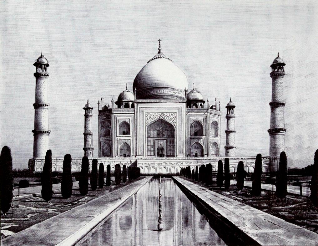 Taj Mahal by joanlondono