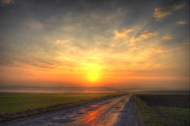 Sunrise 03-04-2011 HDR 5 by fr1man