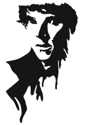 Sherlock Silhouette (BBC) by anikavandermeulen