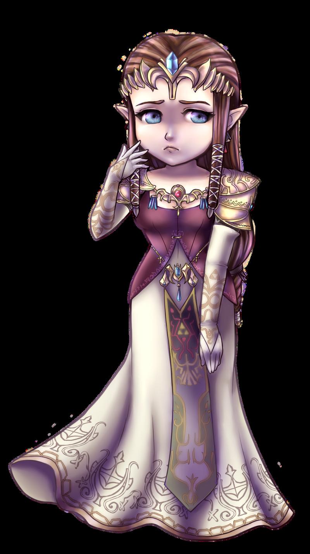 Twilight Princess Chibi: Princess Zelda