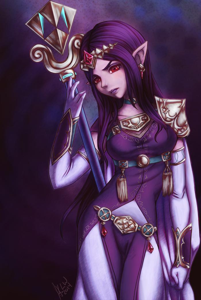 Lorule Queen Hilda by KimiCookie