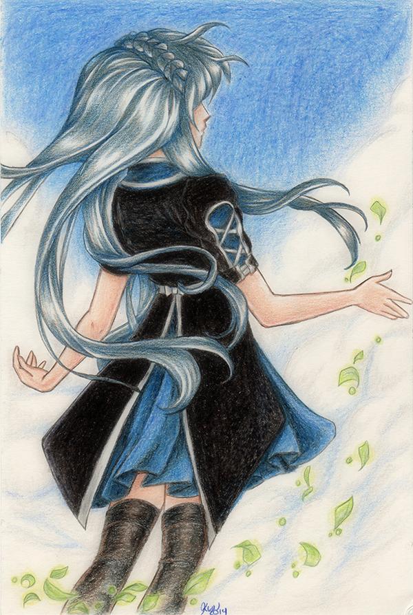 Sky Blue by KimiCookie