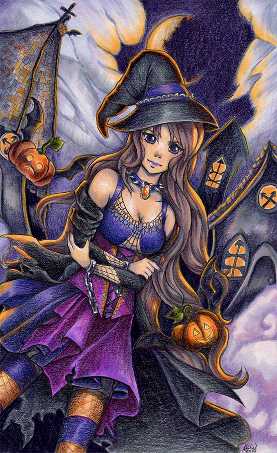 A Witchs Night by KimiCookie