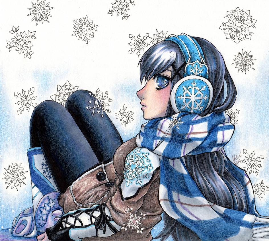 Snowflake by KimiCookie
