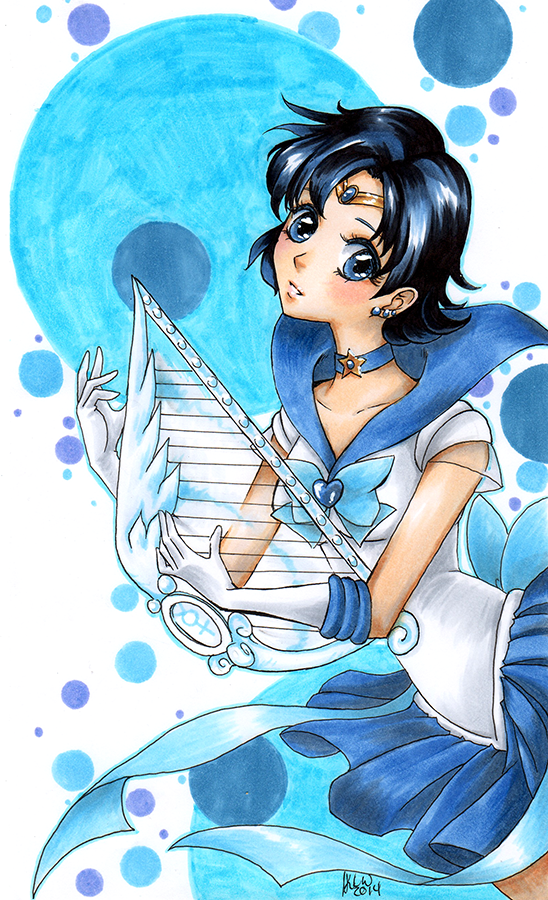 Sailor Mercury by KimiCookie