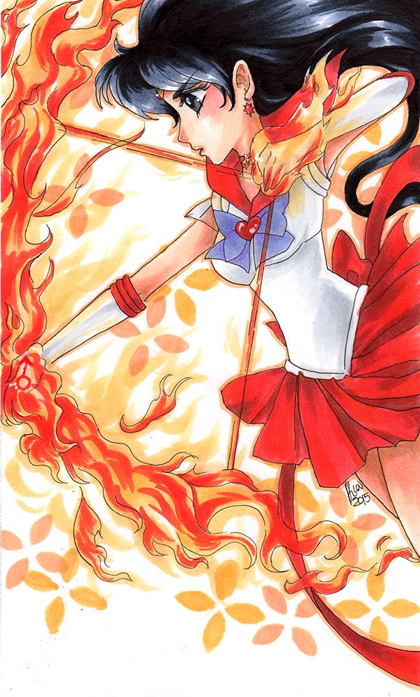Sailor Mars by KimiCookie