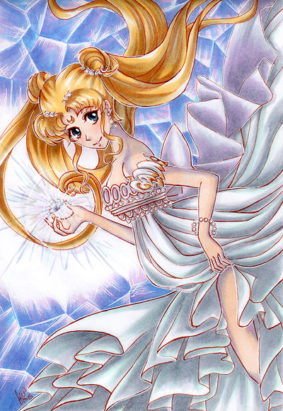 Princess Serenity by KimiCookie