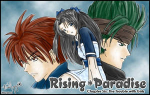Rising Paradise - ch 6 cover by kurosu