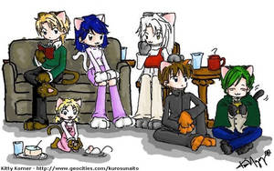 Kitty Korner - Gathering by kurosu