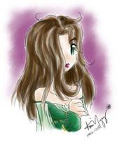 Druidess Alliria by kurosu