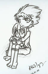 Toushirou and Rukia