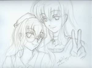 Mayura and Hel-chan