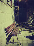 Bench all alone by liviNQa