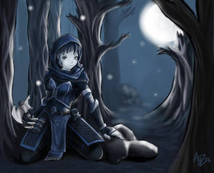 Perin Shadowblade by aggettzz