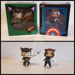 NerdPics - Chibi Loki and Bucky by GiuliaStregatta