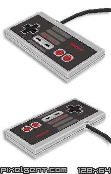 3D Nes Controller by willy-wilson