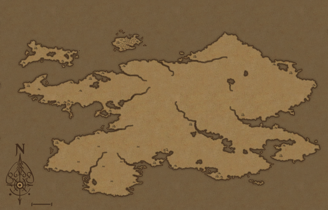 World Map WIP by willy-wilson