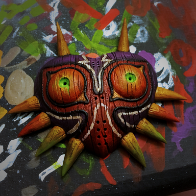 Majora's mask 3D print by willy-wilson