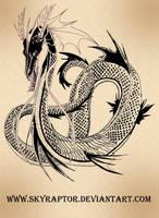 Elder Sea Serpent by skyraptor