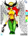 - Rebout Hawkgirl -