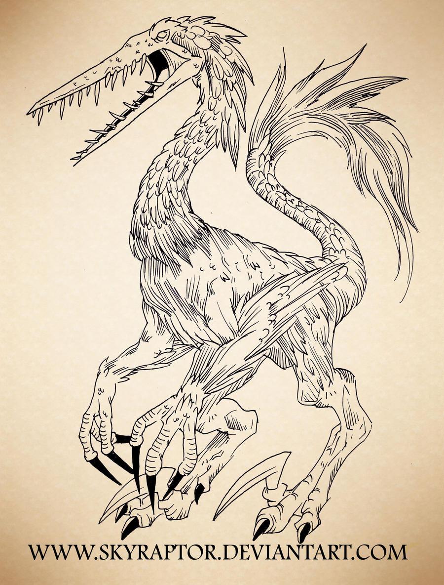 - Hidrornitoraptor - by skyraptor