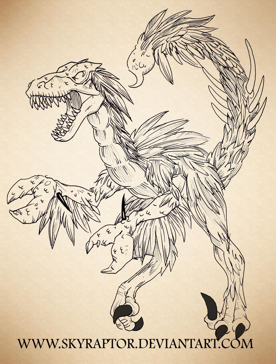 Raptor Scorpicon by skyraptor