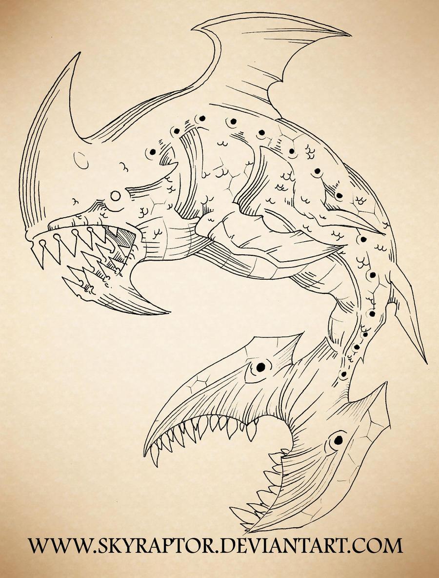- Axe Shark - by skyraptor