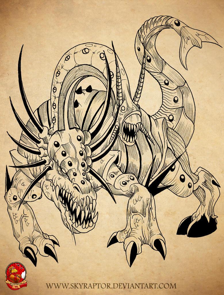 - Docastitan Beast - by skyraptor