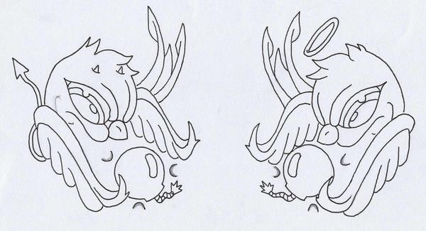 my sparrow tattoo designs by ~DARK-PYRO on deviantART