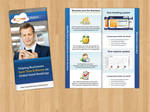 Business travel flyer / brochure by Starodaj
