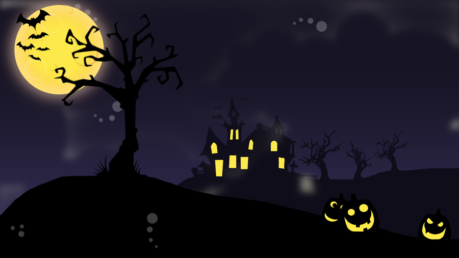 Halloween Wallpaper By NAKino