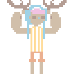 animated chopper pixel by blubified