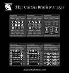 drbjr Custom Brush Manager - Photoshop CS6/CC $2