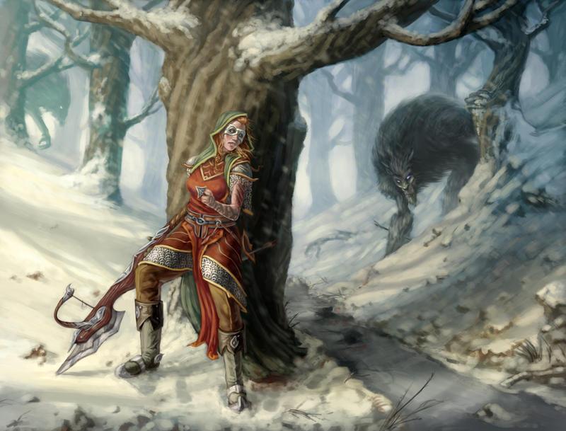 The Hunt by drbjrart